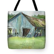 Northern State Farm, Skagit Valley Tote Bag
