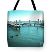 Not Docked Tote Bag