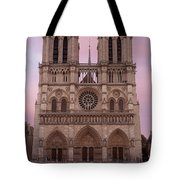 Notre Dame Cathedral Dawn Tote Bag by Jemmy Archer