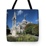 Notre Dame Garden Tote Bag by Jemmy Archer