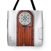 Number 4, Biarritz France Tote Bag