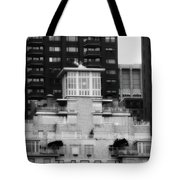 Nyc In Black And White Xiii Tote Bag