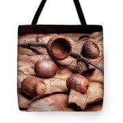 Oak Tree Macro Tote Bag