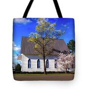 Oakland White Church Tote Bag