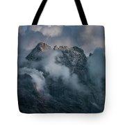 Obscured By Clouds Tote Bag by Jaroslaw Blaminsky