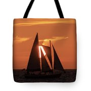 Obscured View Tote Bag