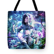 Observing Our Celestial Synergy Tote Bag