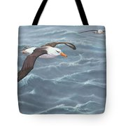 Ocean Flight Seabirds By Alan M Hunt Tote Bag