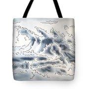 Ocean Rising Tote Bag