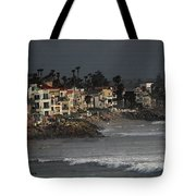 Oceanside California Beach Front Tote Bag