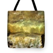 October At The Falls Tote Bag