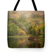 October Reflections II Tote Bag by Jeff Phillippi