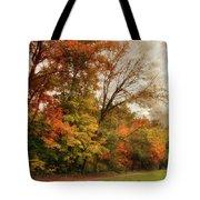 October Skies  Tote Bag