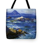 Off Mission Point Aka Point Lobos Tote Bag