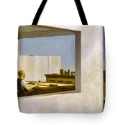 Office In A Small City  Tote Bag