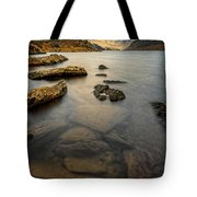 Ogwen Lake Snowdonia Tote Bag by Adrian Evans