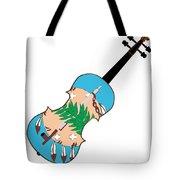 Oklahoma State Fiddle Tote Bag