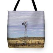 Oklahoma Windmill Tote Bag