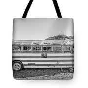 Old Abandoned Vintage Bus Jerome Arizona Tote Bag