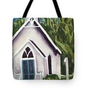 Old Church Copake Falls Tote Bag