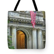 Old City Hall Of Boston Tote Bag
