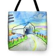 Old Covered Bridge - Avonport N.s. Tote Bag