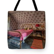 Old Farmhouse Upstairs Bedroom Tote Bag