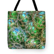 Old Glass Buoys Tote Bag