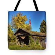 Old Hollow Covered Bridge Tote Bag