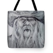 Old Man In A Hat  Tote Bag