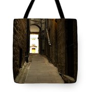 old medieval close in Edinburgh Tote Bag