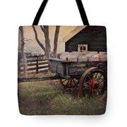 Old Milk Wagon Tote Bag