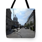 Old Montreal Market Tote Bag
