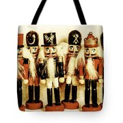 Old Nutcracker Brigade Tote Bag