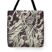 Old Nyc Decorations Tote Bag