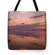 Old Orchard Beach Glorious Sunset Tote Bag