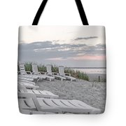 Old Orchard Beach Tranquil Morning Tote Bag