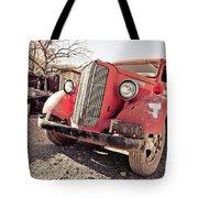 Old Red Truck Jerome Arizona Tote Bag