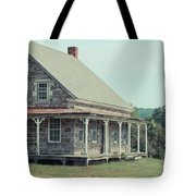 Old Stone Farm House Newbury Vermont Tote Bag