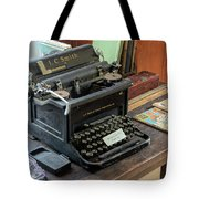Old Style Texting Tote Bag