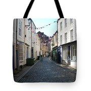 old town street in Hexham Tote Bag