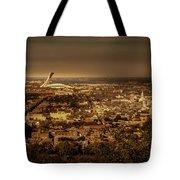 Olympic Stadium Tote Bag by Juan Contreras