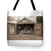 Oman's Garage Tote Bag