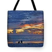 On A Quiet Beach With You Tote Bag