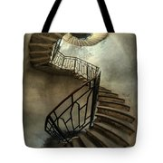 An Old Staircase Tote Bag