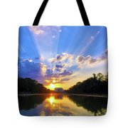 On The Lord's Side Tote Bag