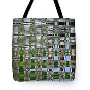 On The River At Aberdeen Tote Bag