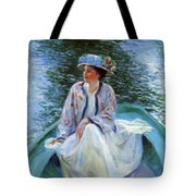 On The River Edge 1910 Tote Bag