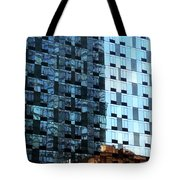 On The Sunny Side Of The Street Tote Bag by Rick Locke