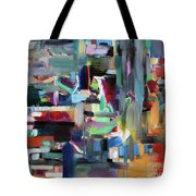 On The Way To Yerushalyim Tote Bag